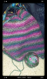 A prayer shawl I am currently making.