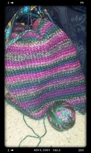 A prayer shawl I am currently making.